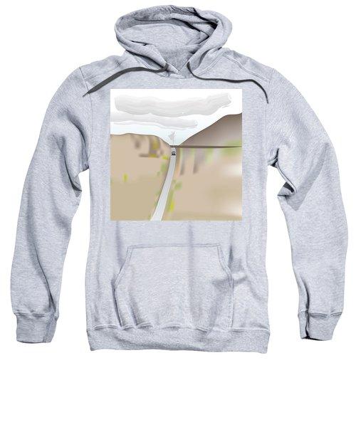 Train Landscape Sweatshirt
