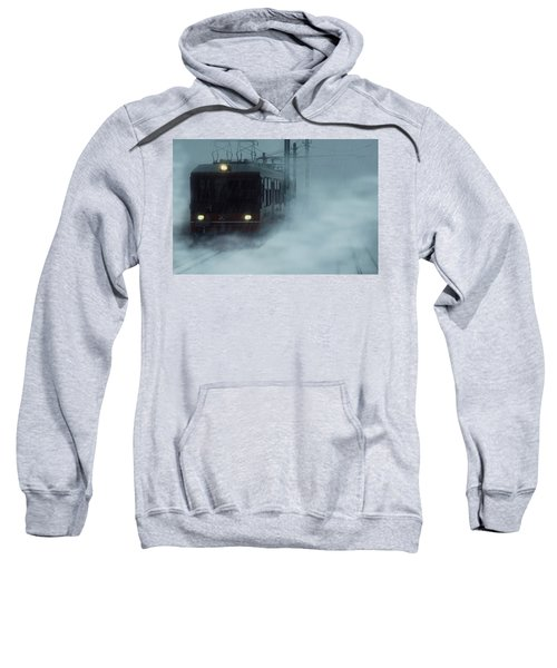 Traveling In The Snow... Sweatshirt