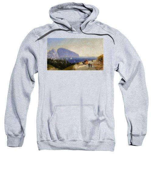 Travellers In Gurzuf Sweatshirt