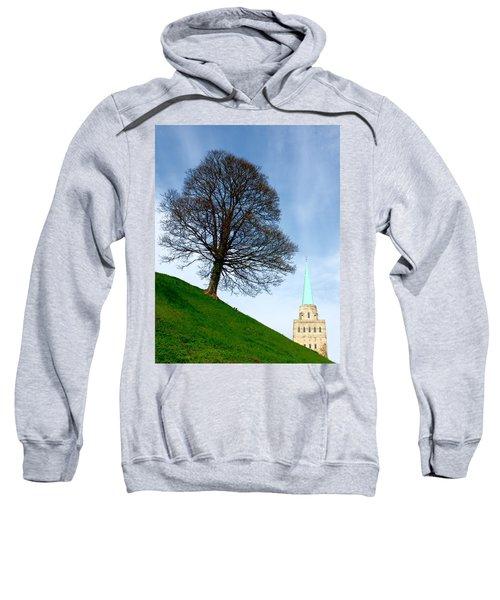 Tree On A Hill Sweatshirt