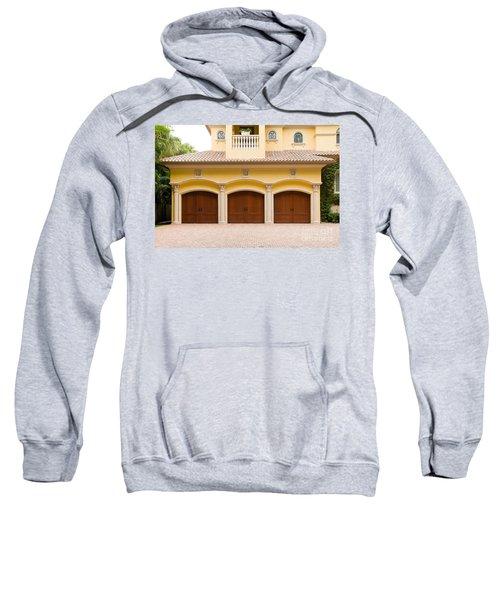 Triple Garage Doors Sweatshirt