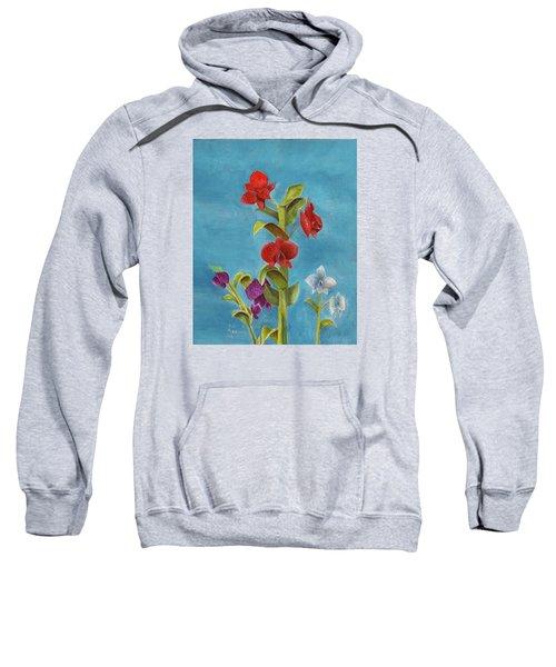 Tropical Flower Sweatshirt
