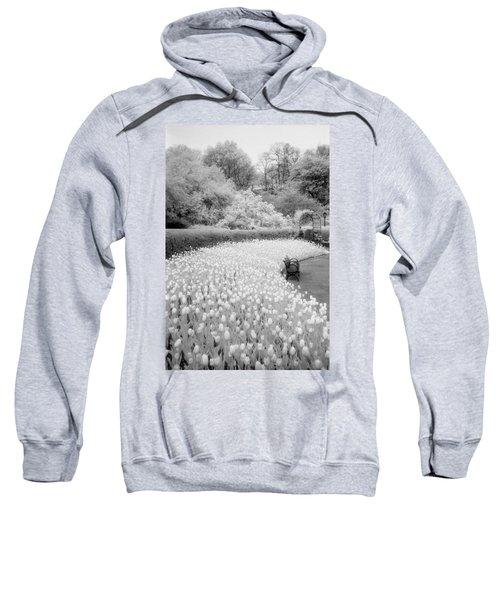 Tulips And Bench II Sweatshirt