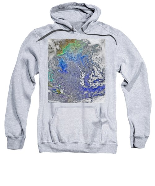Turbulence In The Atlantic Ocean Sweatshirt