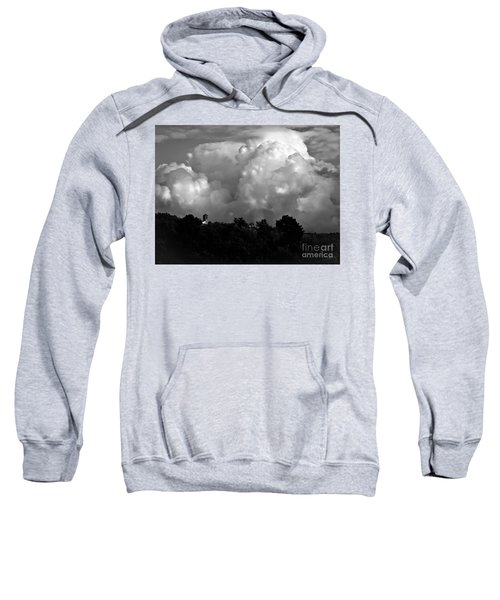 Tuscan Storm Rising From The Valley Sweatshirt