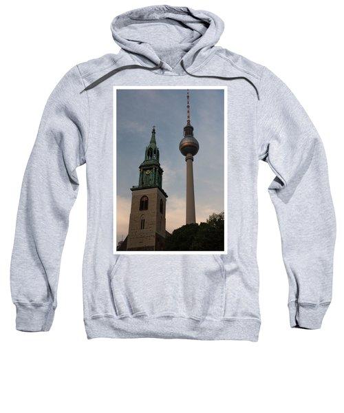 Two Towers In Berlin Sweatshirt