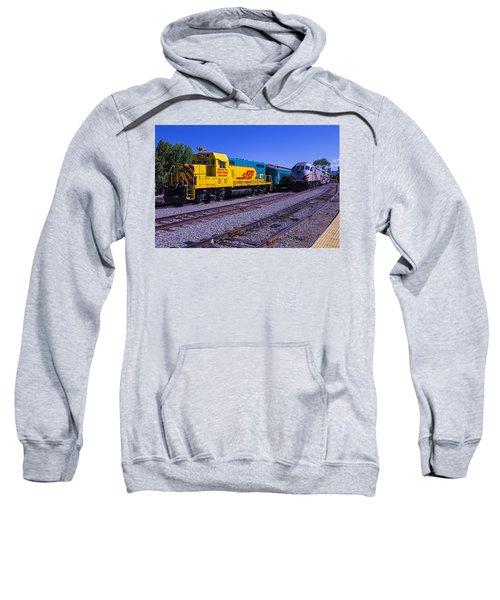 Two Trains Sweatshirt