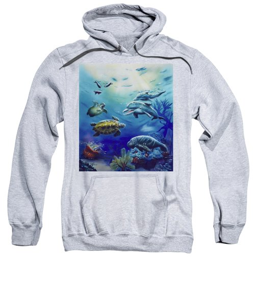 Under Water Antics Sweatshirt