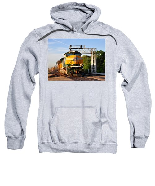 Union Pacific Chicago And North Western Heritage Unit Sweatshirt