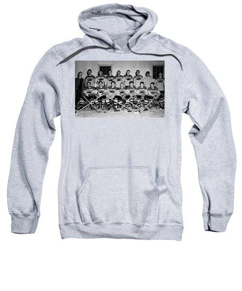 University Of Michigan Hockey Team 1947 Sweatshirt by Mountain Dreams