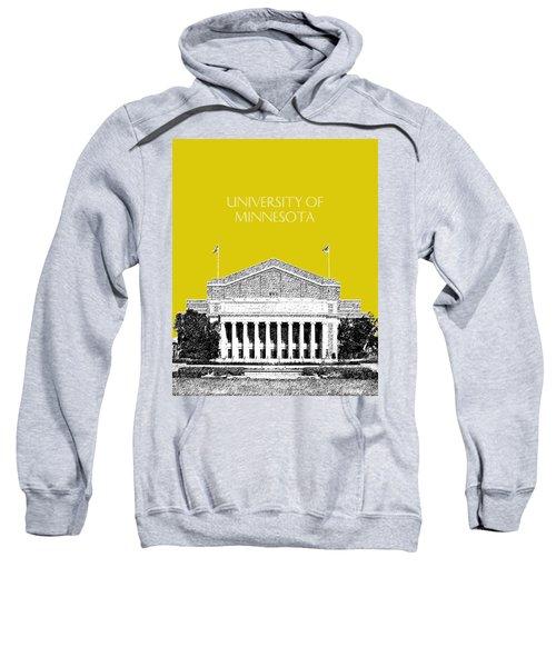 University Of Minnesota 2 - Northrop Auditorium - Mustard Yellow Sweatshirt