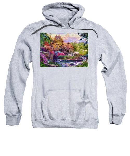 Sweatshirt featuring the photograph Light Palace by Jan Patrik Krasny