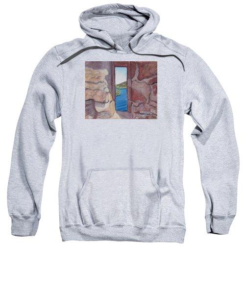 Archers' Window Urquhart Ruins Loch Ness Sweatshirt