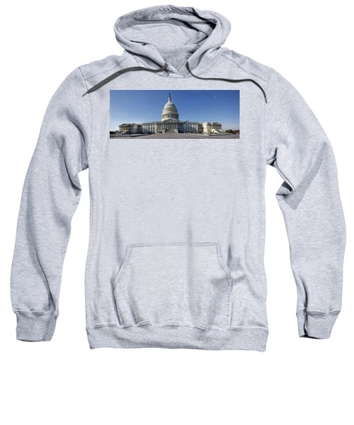 Us Capitol Panorama Sweatshirt