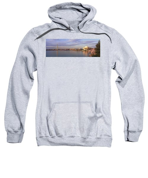 Usa, Washington Dc, Tidal Basin, Spring Sweatshirt by Panoramic Images