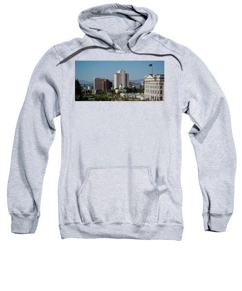 Utah State Capitol Building, Salt Lake Sweatshirt by Panoramic Images