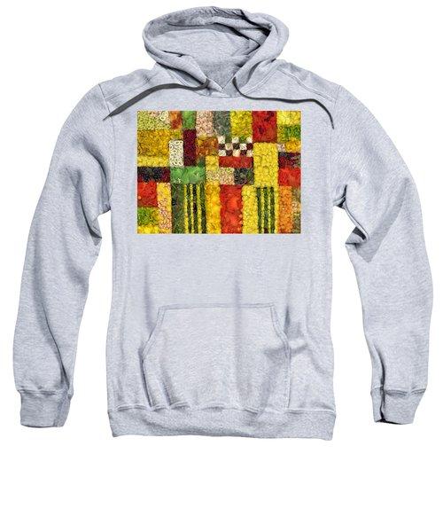 Vegetable Abstract Sweatshirt