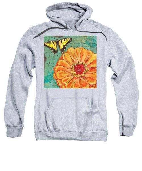 Verdigris Floral 1 Sweatshirt