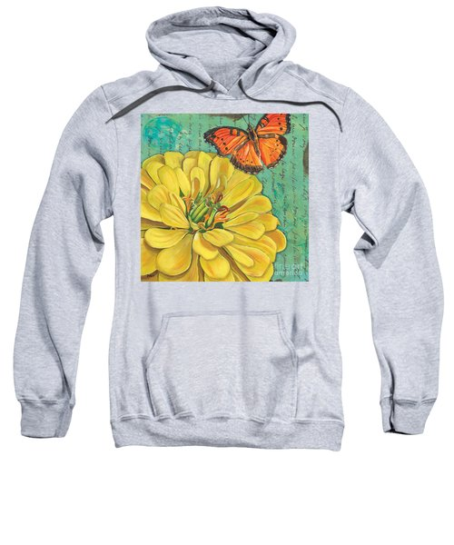 Verdigris Floral 2 Sweatshirt
