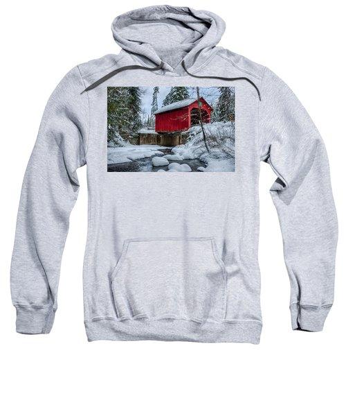 Vermonts Moseley Covered Bridge Sweatshirt