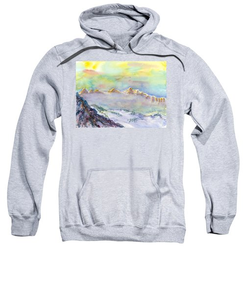 View From Snowbird Sweatshirt