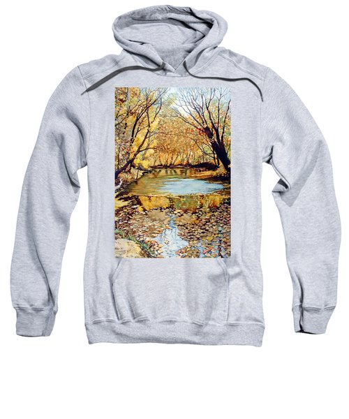 View From The Covered Bridge Sweatshirt