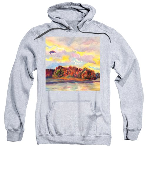 View Of Goat Island Sweatshirt