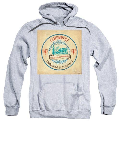 Vintage Cheese Label 3 Sweatshirt