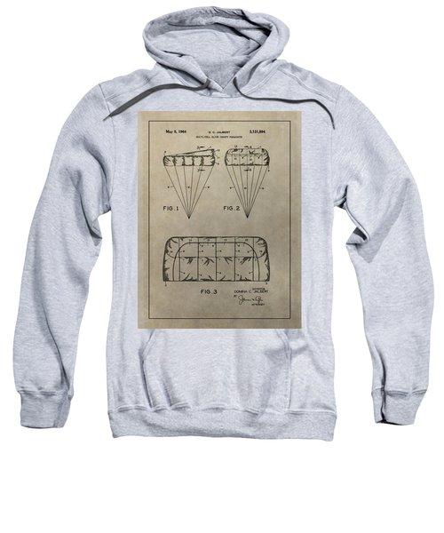Vintage Parachute Patent Sweatshirt