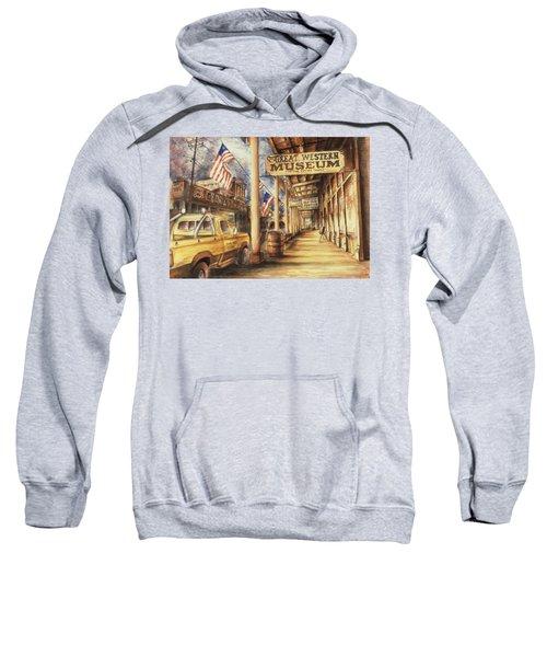 Virginia City Nevada - Western Art Painting Sweatshirt