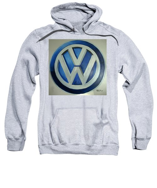 Vw Logo Blue Sweatshirt