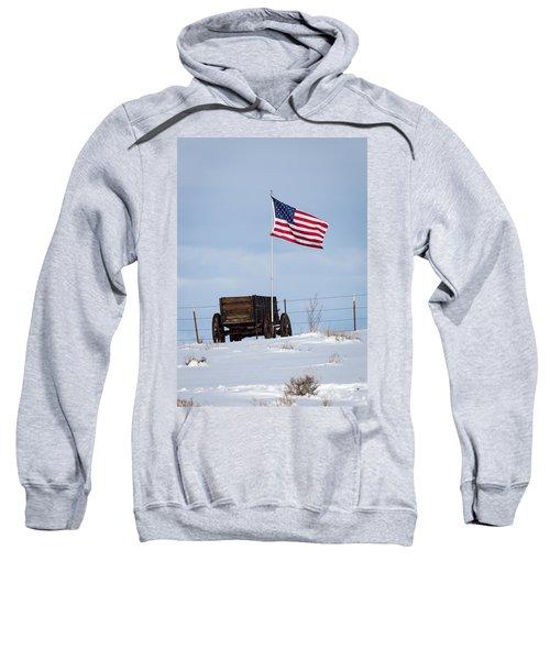 Wagon And Flag Sweatshirt