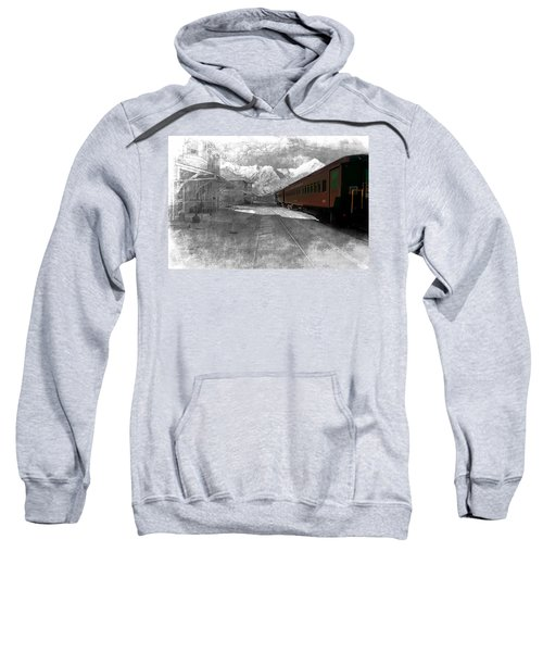 Waiting For The Take Off Sweatshirt