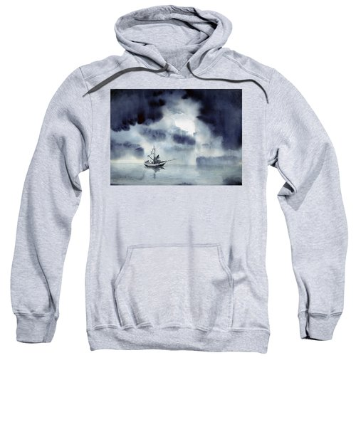 Waiting Out The Squall Sweatshirt