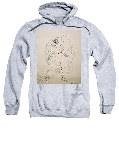 Walking With An Angel Sweatshirt