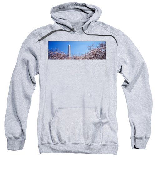 Washington Monument Behind Cherry Sweatshirt by Panoramic Images