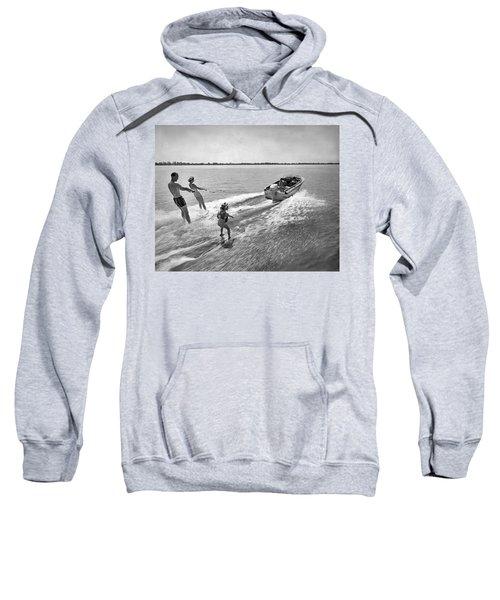Water Skiing At Cypress Garden Sweatshirt