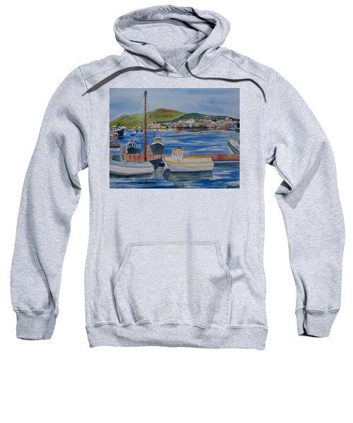 Watercolor - Dingle Ireland Sweatshirt
