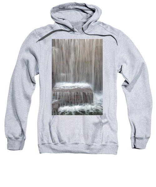 Waterfall At The Fdr Memorial In Washington Dc Sweatshirt