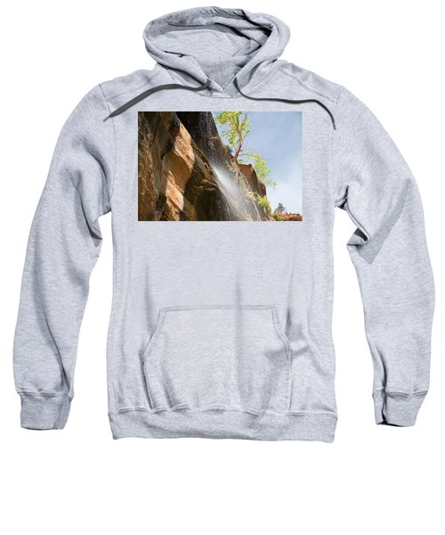 Waterfall Zion National Park Sweatshirt