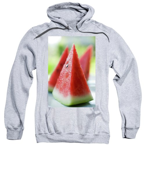 Watermelon Wedges Sweatshirt