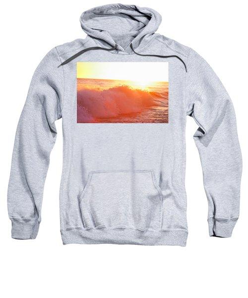 Waves In Sunset Sweatshirt