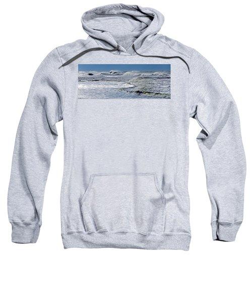 Waves Off Sandfiddler Rd Corolla Nc Sweatshirt