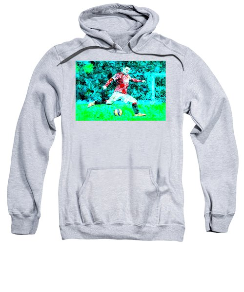Wayne Rooney Splats Sweatshirt by Brian Reaves