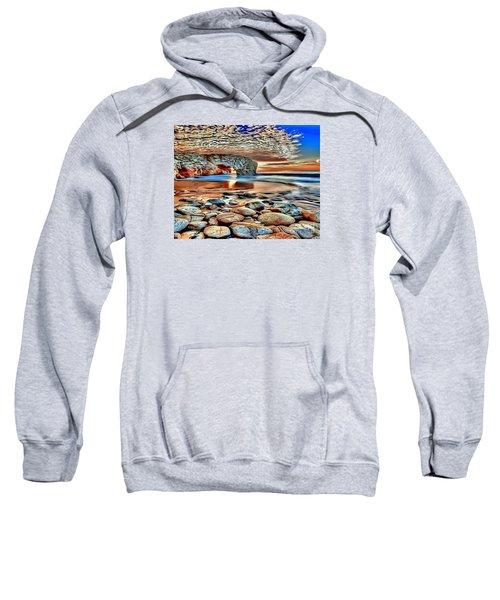 Weighed In Stone Sweatshirt