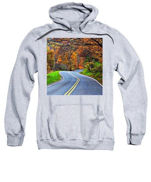 West Virginia Curves 2 Sweatshirt