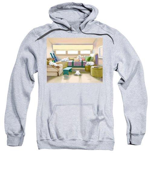 Westie Retreat  Sweatshirt