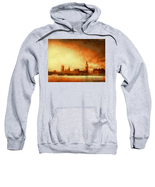 Westminster At Dusk Sweatshirt