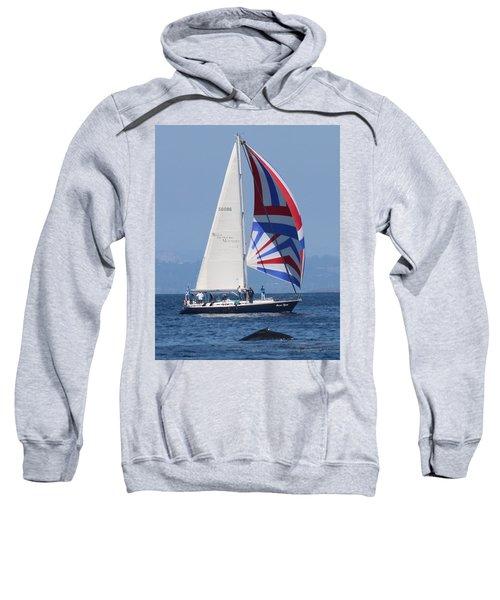 Whale Watching 1 Sweatshirt