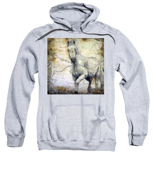 Whipsers Across The Steppe Sweatshirt